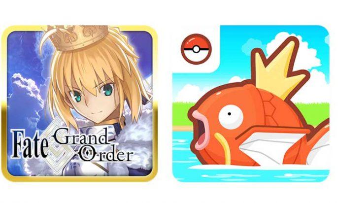 人気ゲームアプリ
